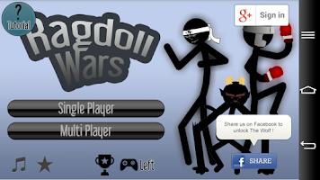 Screenshot of Ragdoll Wars - Fighting Game