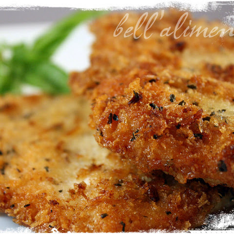 Parmigiano Panko Herb Encrusted Chicken Breasts