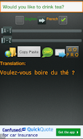 Screenshot of Fast Translator