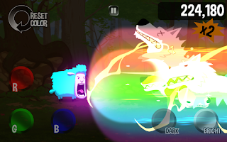 Screenshot of Color Sheep