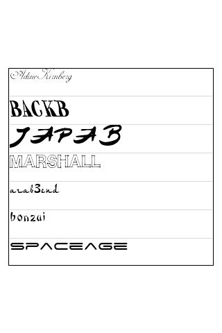 玩通訊App|ReChat Font Pack 2免費|APP試玩