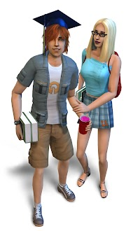 The Sims 2 University Artwork