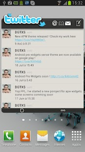 APW HTC Sense 4.0 Theme - screenshot