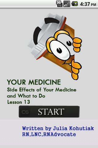 Side Effects of Your Medicine