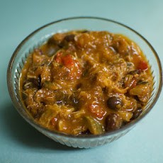 Shredded Chicken Chili