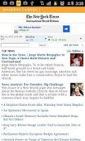 Screenshot of 영어신문 뽀개기 (영자신문 뽀개기 - 영어공부)