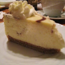 Frangelico (Hazelnut) Cheesecake