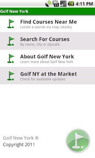 Golf New York - screenshot