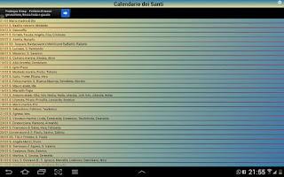 Screenshot of TuttiISanti