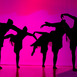 Shadow Dancing by B Grand - News & Events Entertainment ( backlit, thriller, shadow, silhouette, ballet,  )