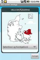 Screenshot of SunScreen (Dansk)