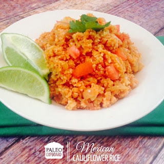 Paleo Mexican Cauliflower Rice