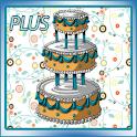 Gâteau d'anniversaire Plus icon