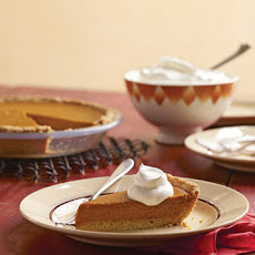 Easy Pumpkin Pie with Press-In Shortbread Crust