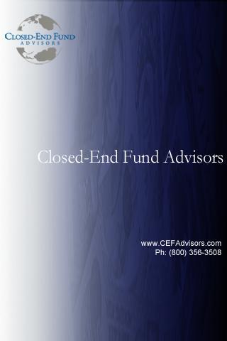 CEF Advisors Mobile Reports
