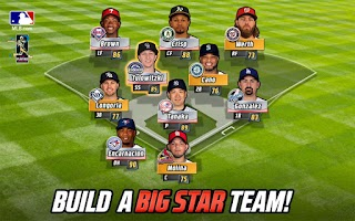 Screenshot of MLB Big Stars Baseball