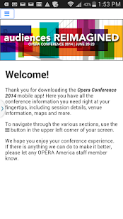 Opera Conference 2014 - screenshot