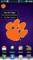 Screenshot of Clemson Revolving Wallpaper