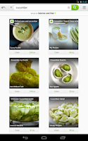 Screenshot of Recipes & Nutrition