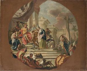 RIJKS: Giacinto Diana: painting 1770