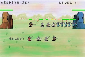 Screenshot of Castle Siege Wars