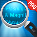 Magnifying Glass + Flashlight APK for Blackberry
