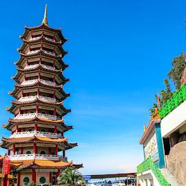 Cinese Temple by Siti Hana Iryani - Buildings & Architecture Places of Worship