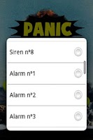Screenshot of Panic Button