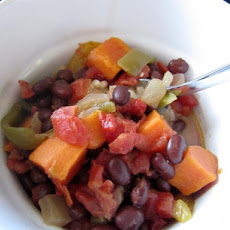 Caribbean Coconut Black Beans in the Crock Pot