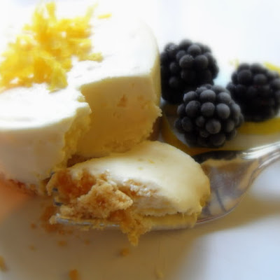 Frozen Lemon Souffle