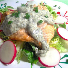 Chilled Salmon With Herb Mayonnaise