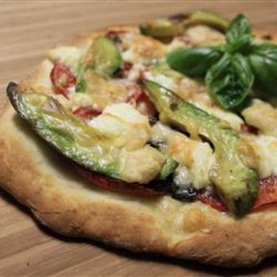 Chicken Avocado Pizza