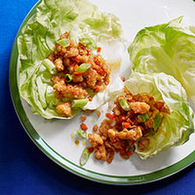 Asian Chicken Lettuce Cups