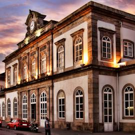 Oporto Railway  Station by Antonio Amen - Buildings & Architecture Public & Historical ( railway station, oporto, portugal, trains, porto, comboios )