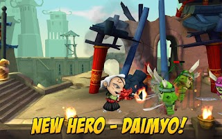 Screenshot of SAMURAI vs ZOMBIES DEFENSE 2