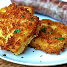 Dinner Tonight: Cheddar Scallion Polenta Croquettes