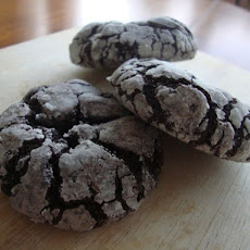 Chocolate Crinkle Cookies with Grapefruit and Star Anise