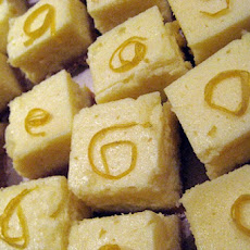 Frozen Lemonade Graham Squares