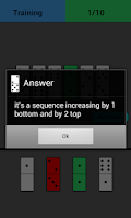 Screenshot of Dominoes IQ brain smart Test