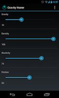 Screenshot of Gravity Home