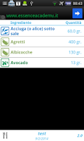 Screenshot of Calcolo Zona