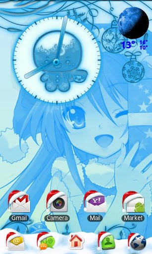 Kawaii Christmas Go Launcher