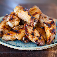 Grilled Honey Miso Wings