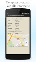 Screenshot of Markt en Braderie App