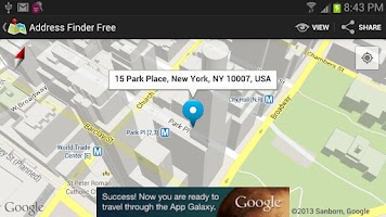 Screenshot of Address Finder (Free)