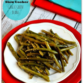 Recipe for Slow Cooker Fresh Garlic Green Beans