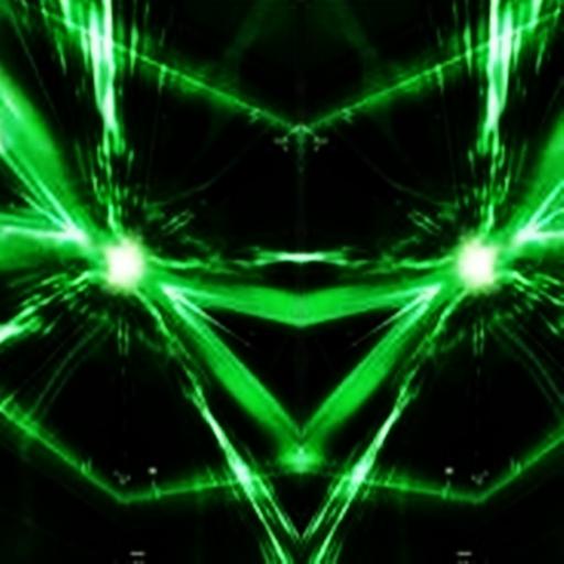 三維激光可愛 LOGO-APP點子