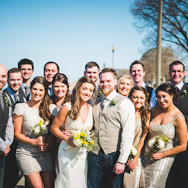 Staying Warm by Jess Anderson - Wedding Groups ( nx1, weddingphotography, weddingday, wedding, chicago, jessica anderson, ditchthedslr, mchenryphotography.com, weddingphotographer, imagelogger, photography )