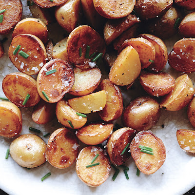 Crispy Salt-and-Vinegar Potatoes