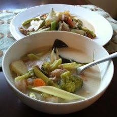 Coconut Chicken Soup (Tom Ka Gai)